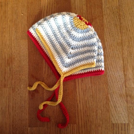 Scandi-inspired baby hat