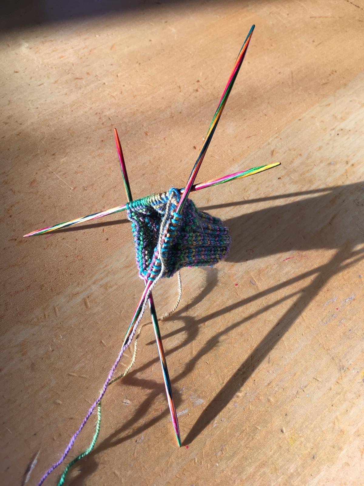 Little knitting